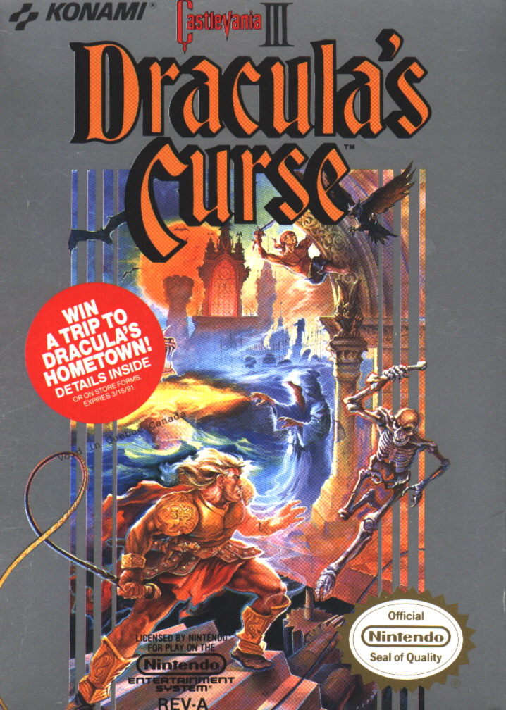 The Next 100 Years >> Castlevania 3: Dracula's Curse