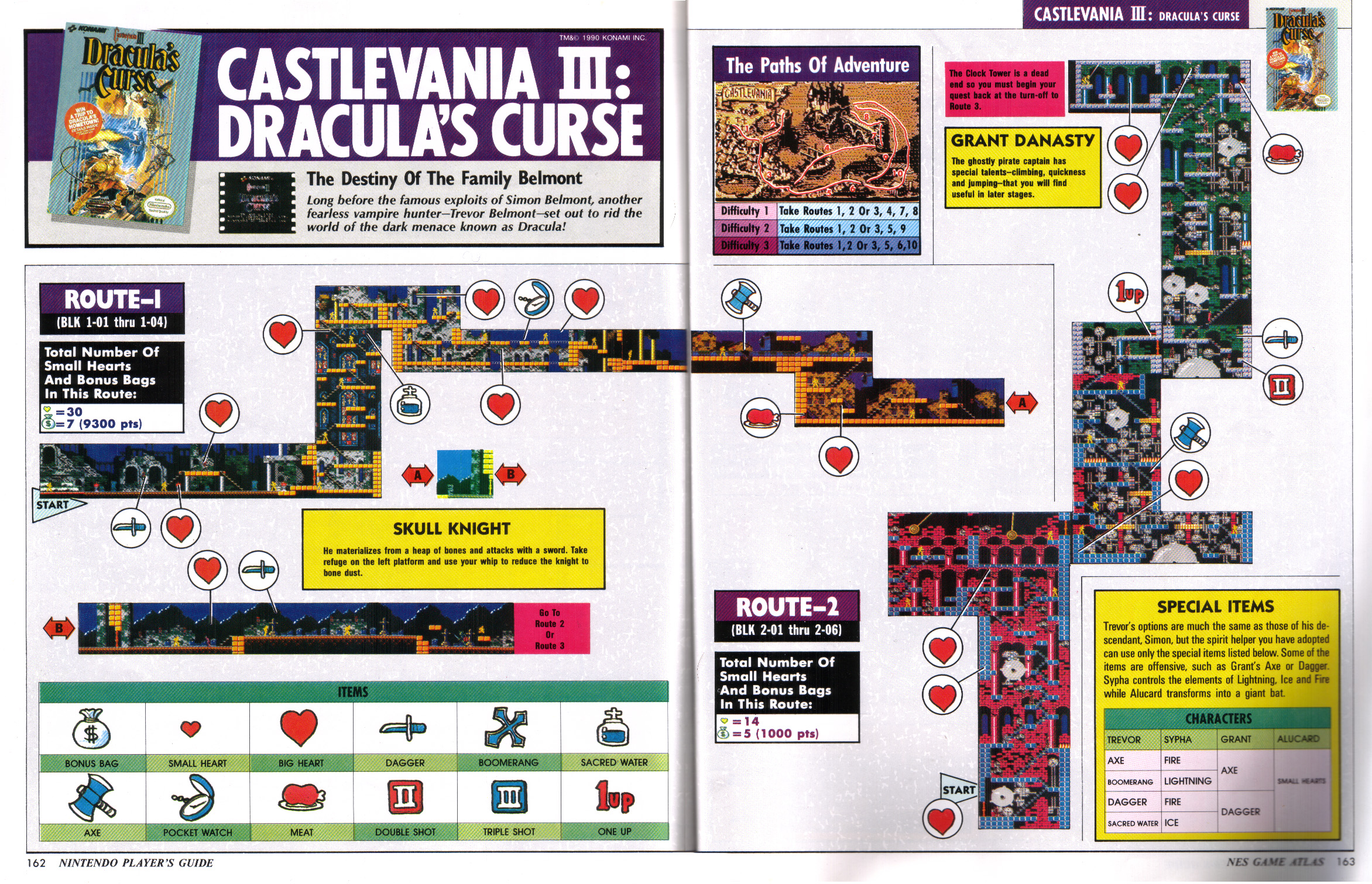 Castlevania World Map.Castlevania Dungeon Magazine Scan Library